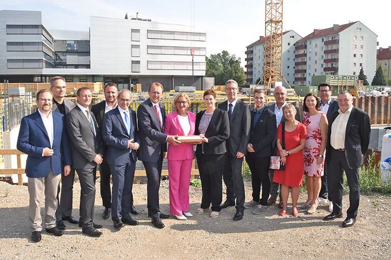 Cornerstone Ceremony for Campus St. Pölten